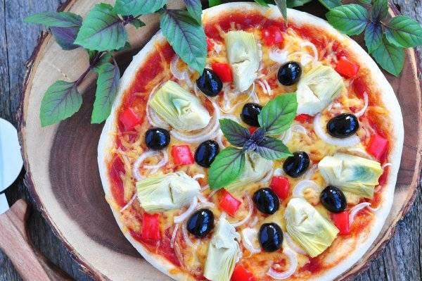 Gourmet Collection Spice Blends Recipe Artichoke, Garlic Puffed Pizza