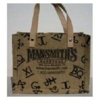 Leather Handle Gift Bag 2 Mansmith