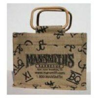 Wooden Handle Gift Bag 2 Mansmith